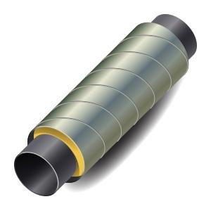 Труба 40 в ППУ изоляции 125 ОЦ одк